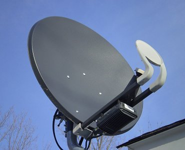 Freesat dish Kirkby in Ashfield